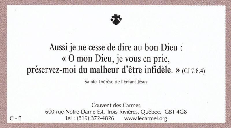 Petites paroles de Sainte-Thérèse de l'Enfant-Jésus et de la Sainte-Face - Page 5 C-310