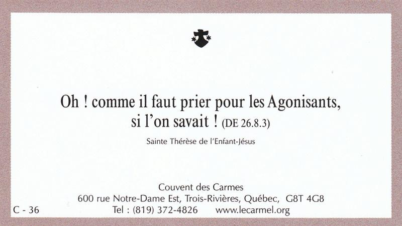 Petites paroles de Sainte-Thérèse de l'Enfant-Jésus et de la Sainte-Face - Page 6 C-3610