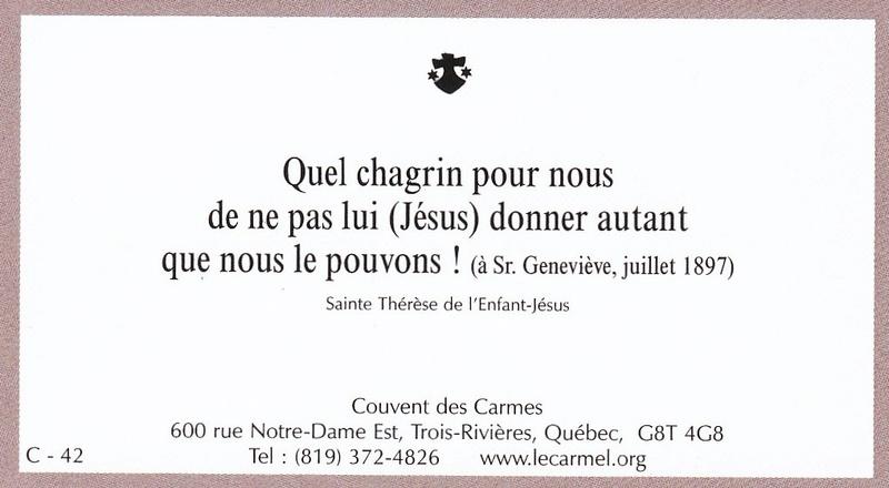 Petites paroles de Sainte-Thérèse de l'Enfant-Jésus et de la Sainte-Face - Page 6 C-4210