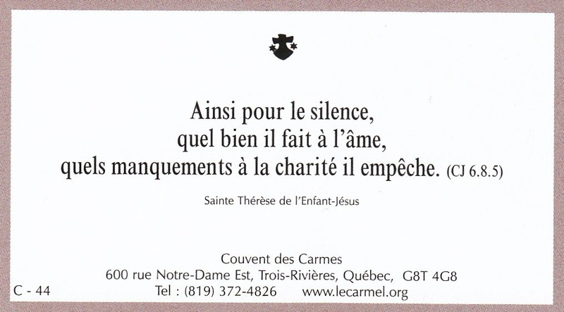 Petites paroles de Sainte-Thérèse de l'Enfant-Jésus et de la Sainte-Face - Page 6 C-4410