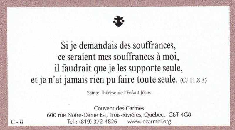 Petites paroles de Sainte-Thérèse de l'Enfant-Jésus et de la Sainte-Face - Page 5 C-810