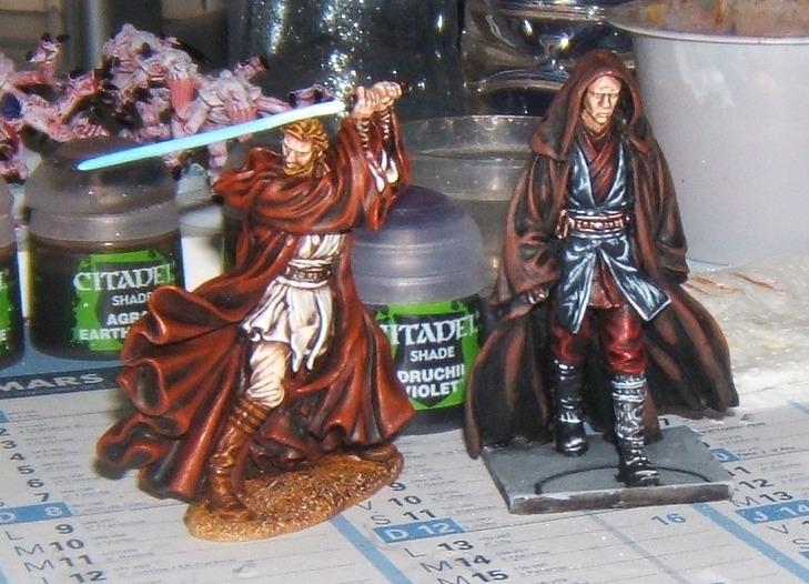 Obi Wan et Anakin Knight Models Obiani10