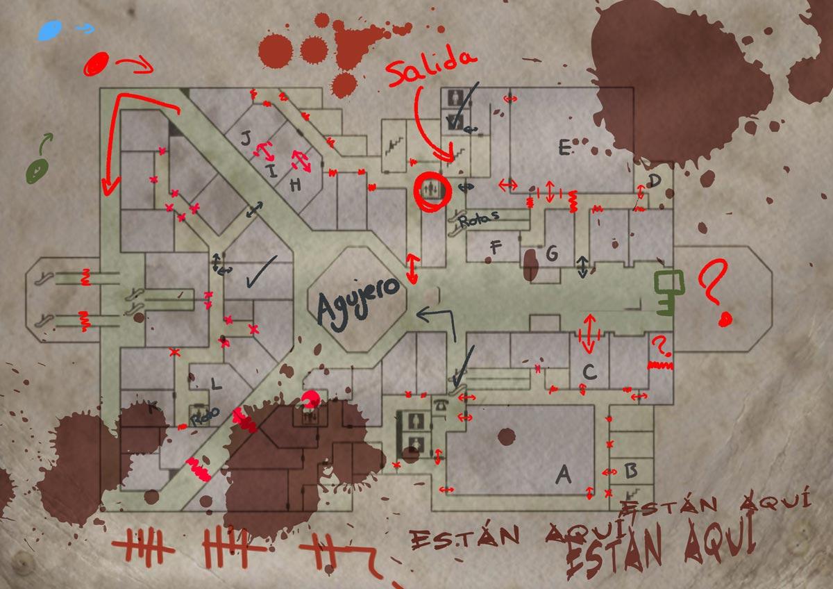ACTO IV: CRISIS (Centro Comercial - PLANTA INFERIOR - GRUPO B) Mapa_n10
