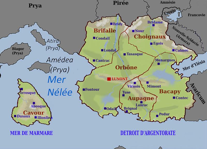 La Carte de la République d'Ostaria Ostari13