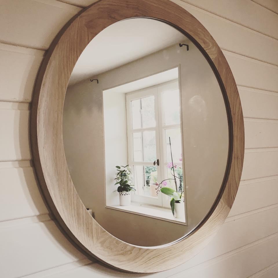miroir en chene Miroir10