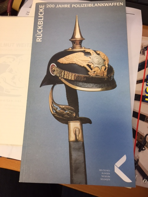 Sabre d'apparat  Officiel  / Fonctionnaire de Thuringe   Image110