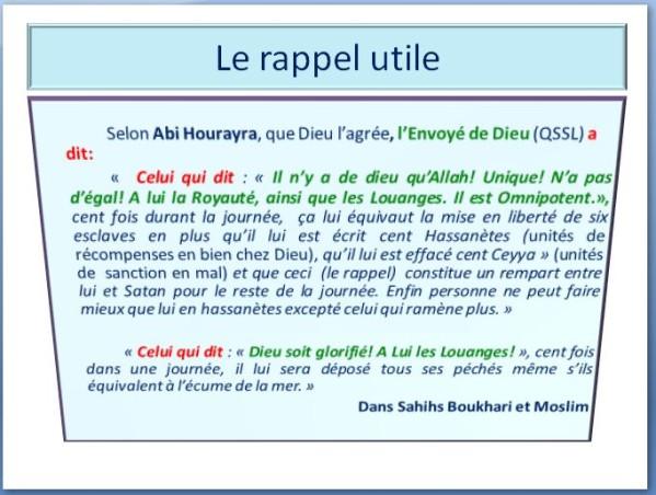 Hadith du Jour  - Page 2 Le-rap10
