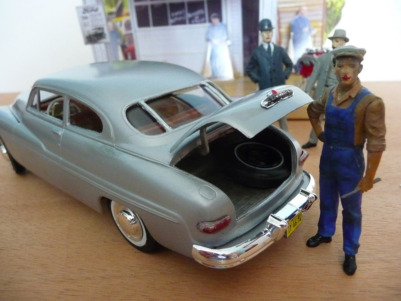 MERCURY 1949  CLUB COUPE 2portes -  réf= AMT654/12  TROPHY SERIES   STOCK ENGINE P1060823