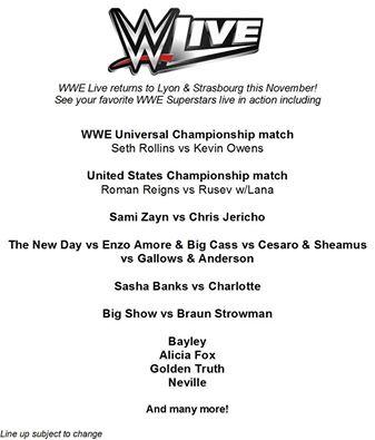 Tournées Européennes de la WWE en 2016 #2 Carte_10