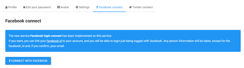 Facebook connect and 8 more updates ! Facebo11