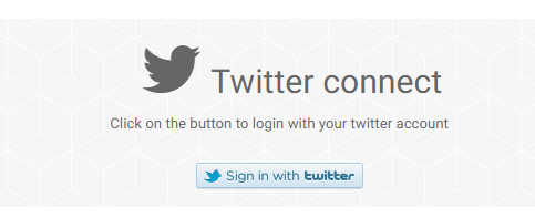 Twitter connect: link your account Twitte13