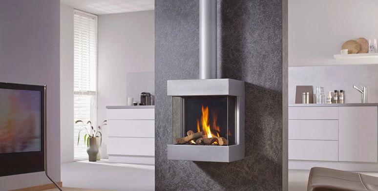 La flamme en toute simplicité avec les foyers GAZ Foyer_55