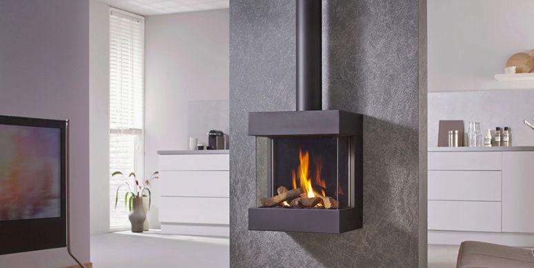La flamme en toute simplicité avec les foyers GAZ Foyer_56