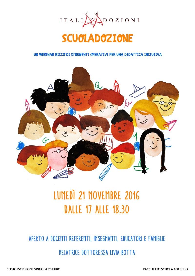 ScuolAdozione: un webinar per una didattica inclusiva Scuola11