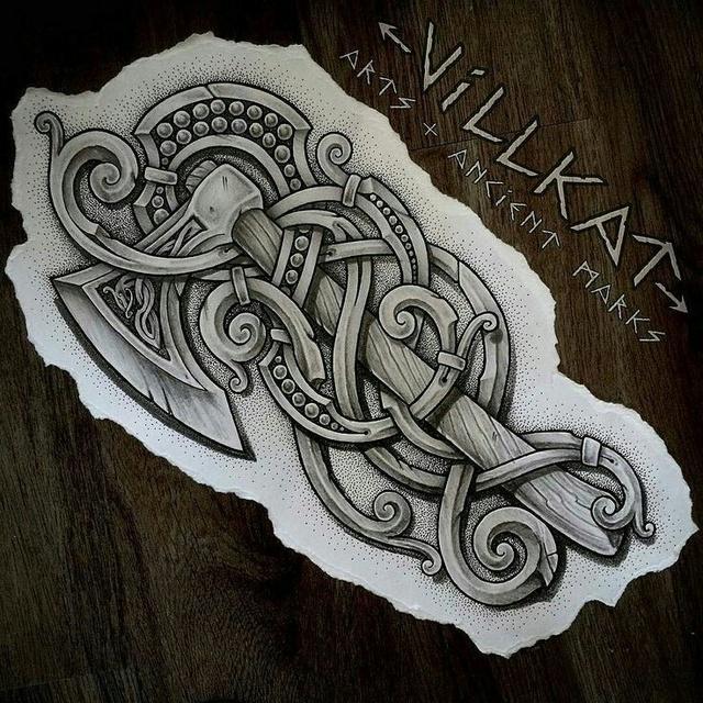 Tatouages Viking en vrac 9a3d8110