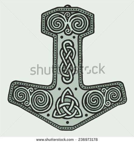 Tatouages Viking en vrac Stock-10