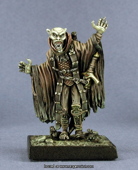 Vampire - Help with the choice of paints for this vampire mini Rm-02810