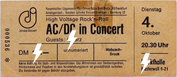 1977 / 10 / 04 - GER, Hamburg, Markthalle 04_10_10