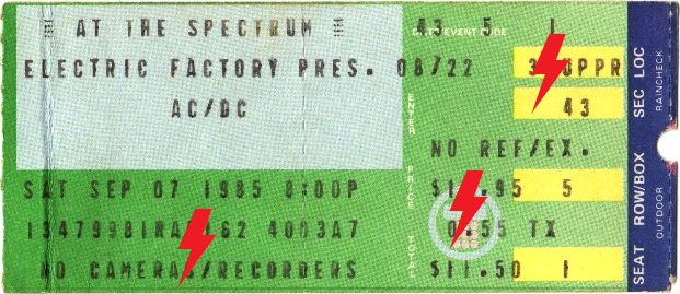 1985 / 09 / 07 - USA, Philadelphia, Spectrum 07_09_10