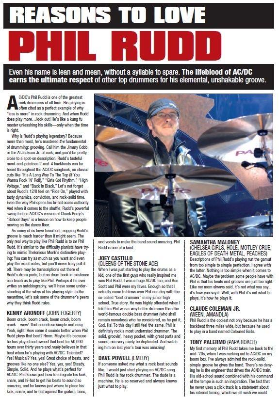 Modern Drummer magazine - May 2010 10418110