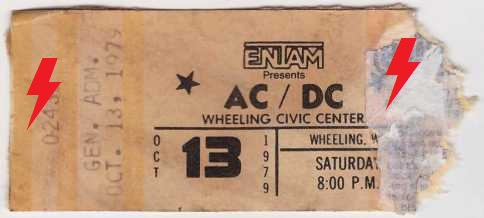 1979 / 10 / 13 - USA, Wheeling, Civic Centre 13_10_10