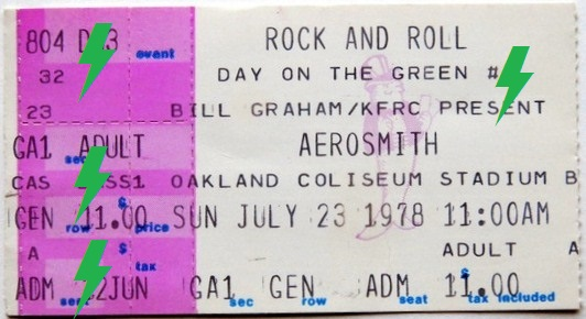 1978 / 07 / 23 - USA, Oakland, Oakland Coliseum Stadium 23_07_10