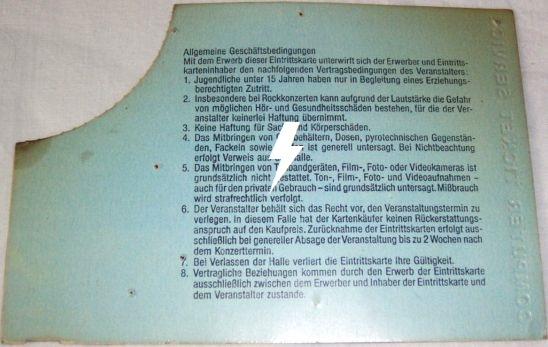 1991 / 03 / 27 - GER, Mannheim, Maimarkthalle 27_03_11