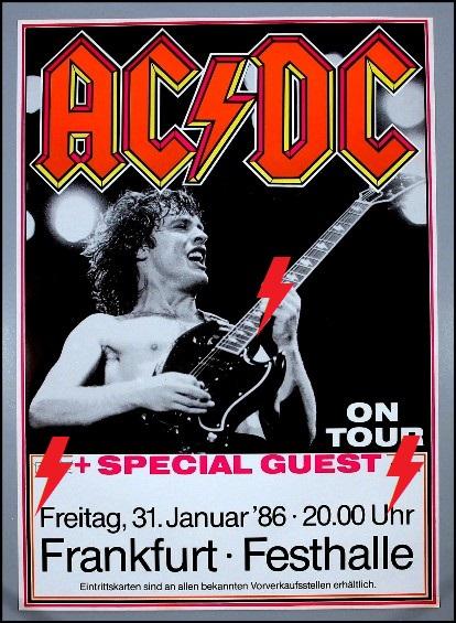 1986 / 01 / 31 - GER, Frankfurt, Festhalle 31_01_10