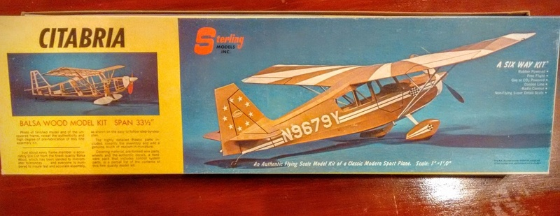 Antique and classic C/L and R/C balsa planes - birds for COX engines Kit-ba10