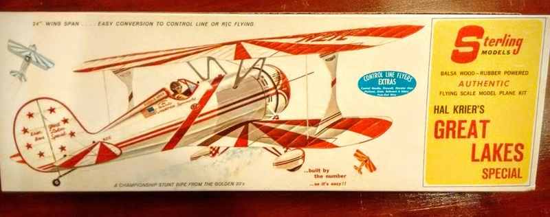 Antique and classic C/L and R/C balsa planes - birds for COX engines Kit-ba11