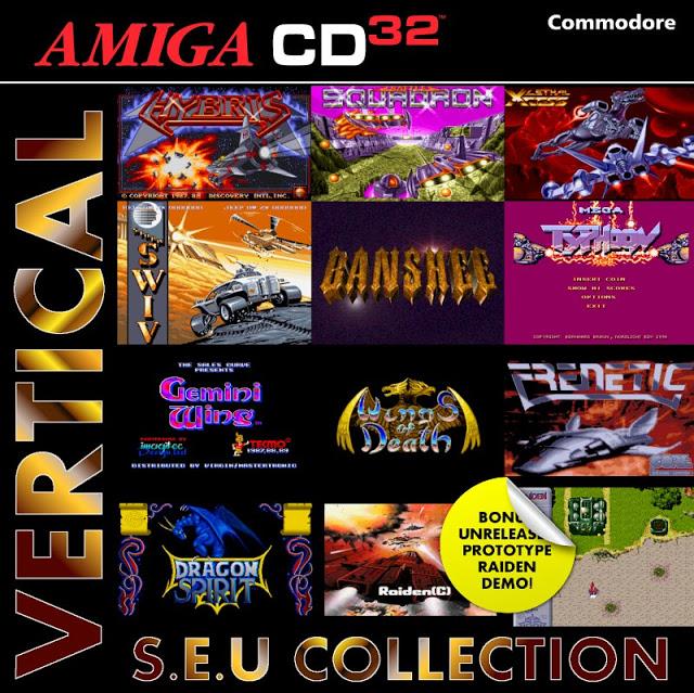 COLLECTION SHOOT EM UP AMIGA CD32 Vertic10