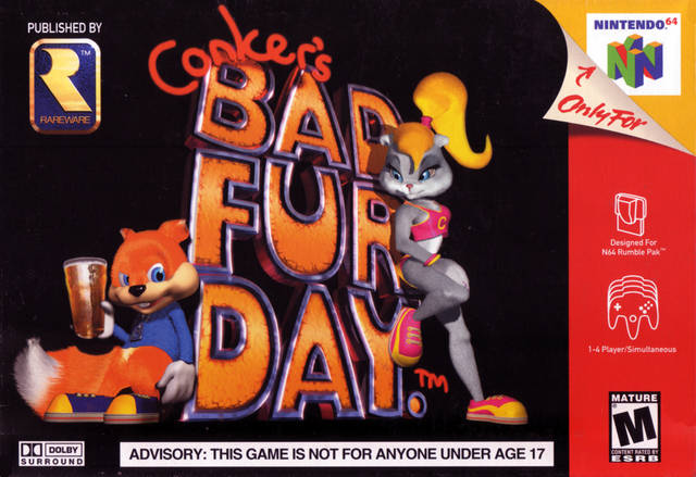 Conker's bad fur day Conker11