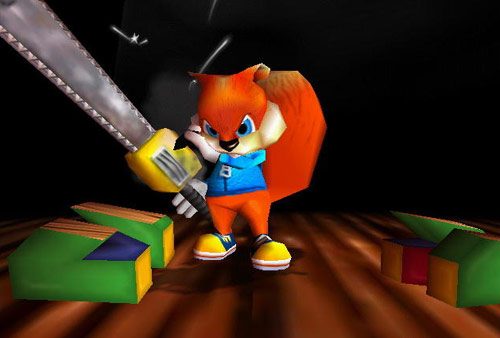 Conker's bad fur day Conker12