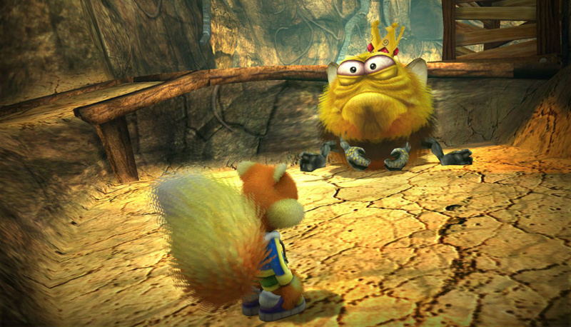 Conker's bad fur day Live11