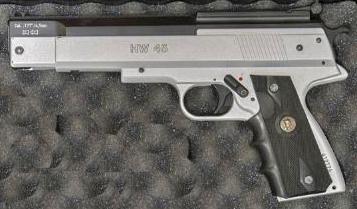 Cherche répliques mécaniques à plombs 4,5mm d'armes de poing  Hw4510