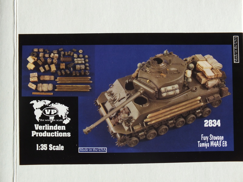 "Sherman M4A3E8 Tamiya réf. 35346 Déco Fury avec Kit Verlinden ""Fury"" Dscf0313"