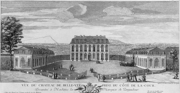 Le château de Bellevue et le Hameau de Mesdames Bellev10