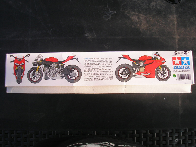 [TAMIYA] DUCATI 1199 PANIGALE S 1/12ème Réf 14129 Ducati47