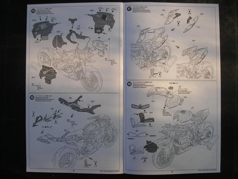 [TAMIYA] DUCATI 1199 PANIGALE S 1/12ème Réf 14129 Ducati53