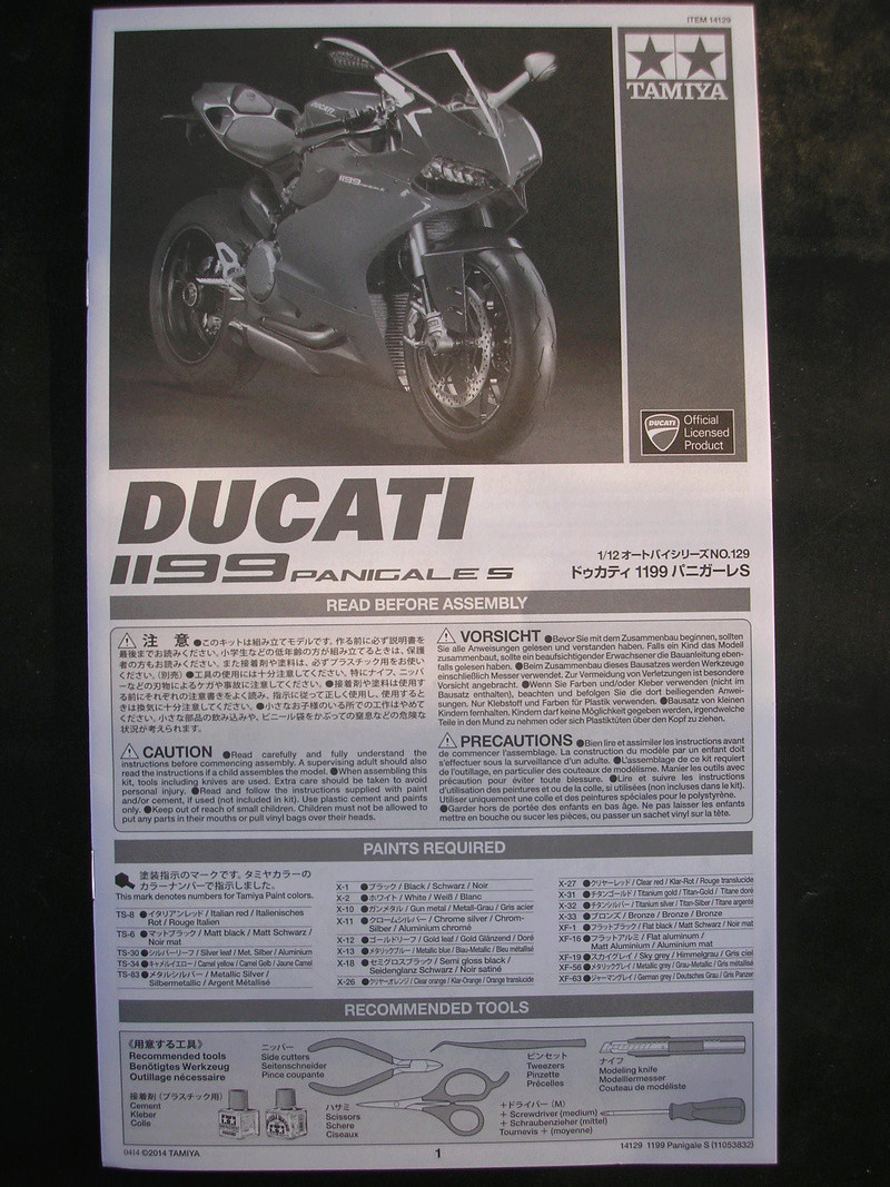 [TAMIYA] DUCATI 1199 PANIGALE S 1/12ème Réf 14129 Ducati55