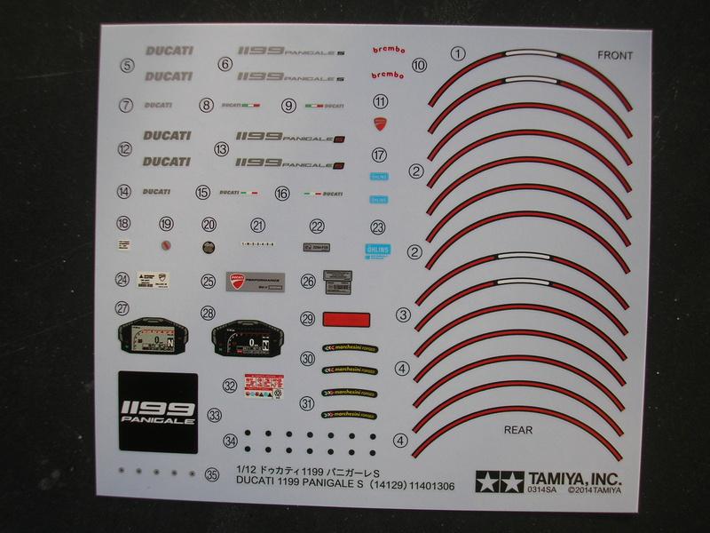 [TAMIYA] DUCATI 1199 PANIGALE S 1/12ème Réf 14129 Ducati57