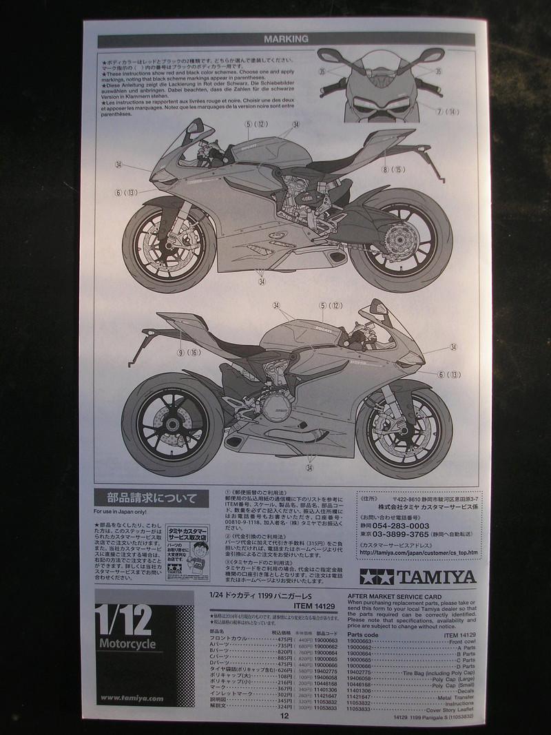 [TAMIYA] DUCATI 1199 PANIGALE S 1/12ème Réf 14129 Ducati60