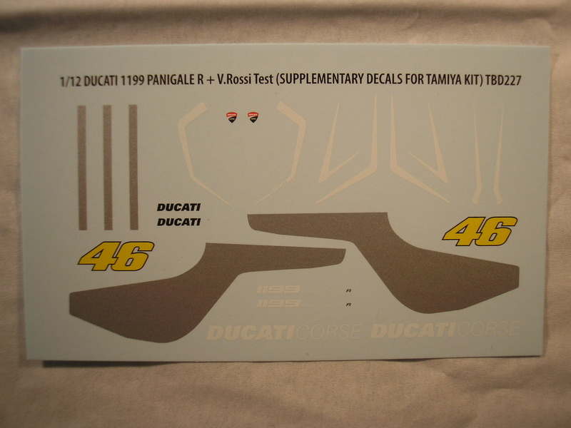 [TAMIYA] DUCATI 1199 PANIGALE S 1/12ème Réf 14129 Ducati65