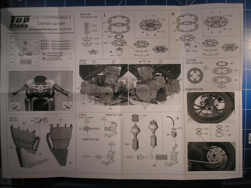 [TAMIYA] DUCATI 1199 PANIGALE S 1/12ème Réf 14129 Ducati68
