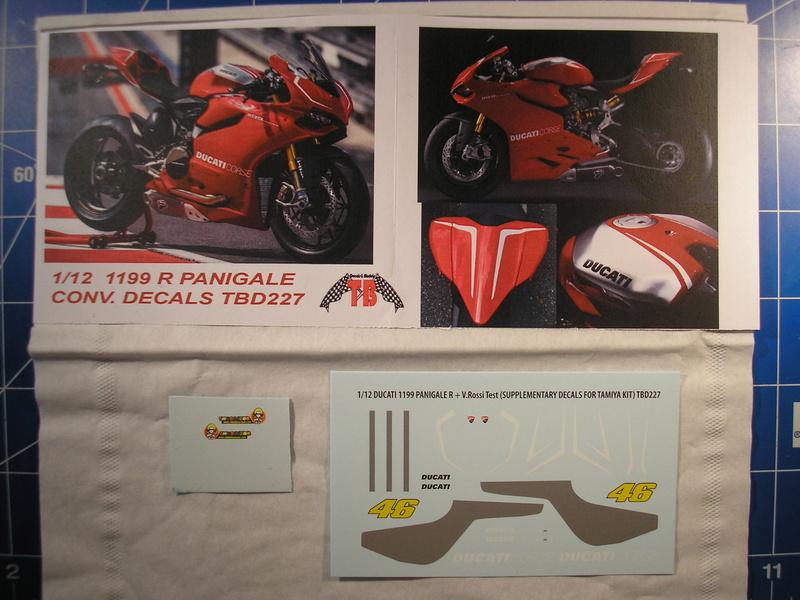 [TAMIYA] DUCATI 1199 PANIGALE S 1/12ème Réf 14129 Ducati69