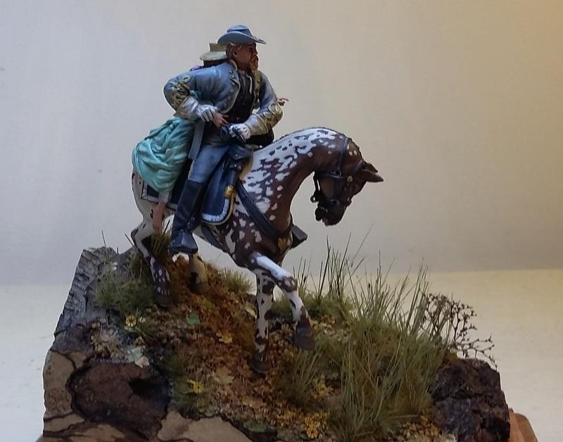 Cavalier sudiste KINGS FIGURINES Cavali13
