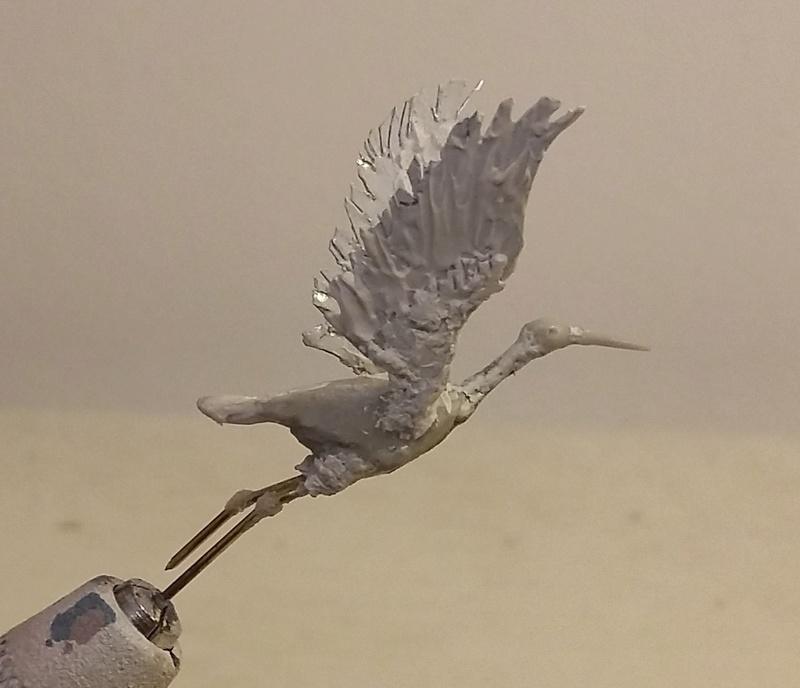 Cavalier sudiste KINGS FIGURINES Oiseau12