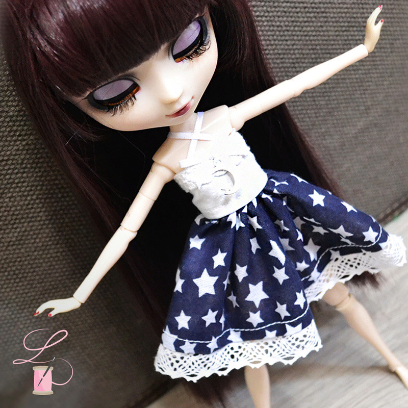 LullaCréation - robes pour Monster high, Pullip, Hujoo Post5710