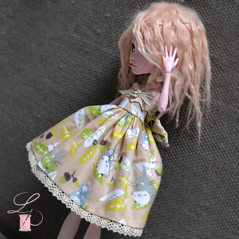 LullaCréation - robes pour Monster high, Pullip, Hujoo Post5910