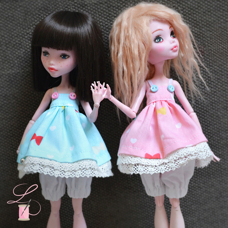 LullaCréation - robes pour Monster high, Pullip, Hujoo Post6210